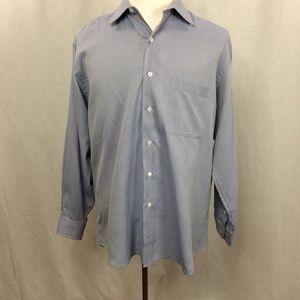 IKE BEHAR Men's Dress Shirt - EUC - 16.5 x 34